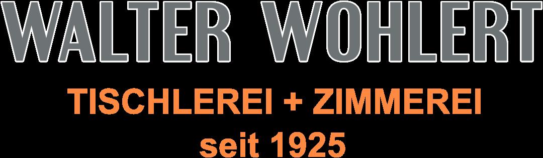 Walter Wohlert GmbH & Co. KG - Tischlerei + Zimmerei seit 1925